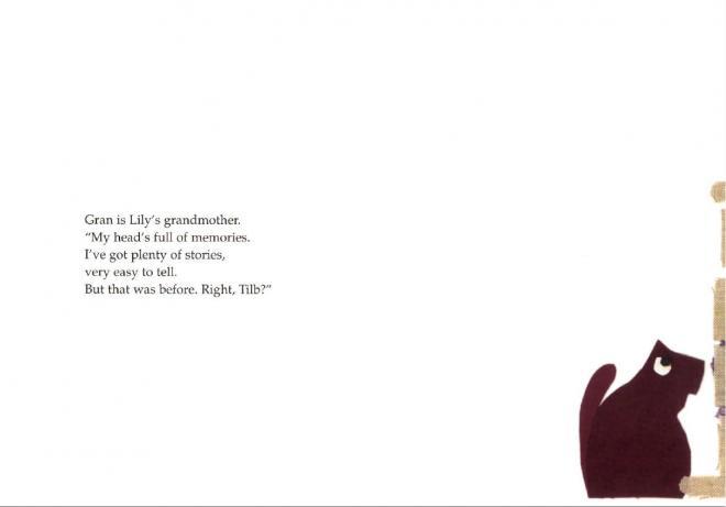 page de l'album lily writes